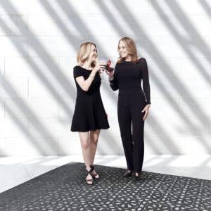 Ann Sutherland & Laurie Weitzner celebrate