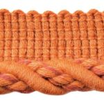 Cable Cordwelt shown in the Red Coralcolor option.