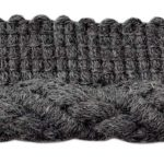 Cable Cordwelt shown in the Grey Mattercolor option.