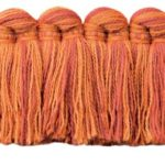 Fringe Benefitwelt shown in the Red Coralcolor option.