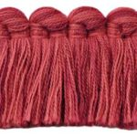 Fringe Benefitwelt shown in the Geranium Redcolor option.